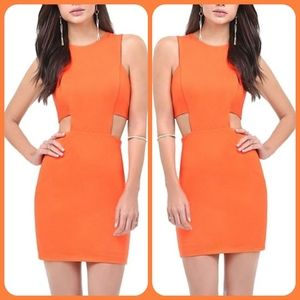 ☀️🧡BEBE Cut-out Dress🧡☀️
